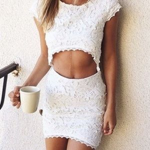 Sabo Skirt Tropez Lace set